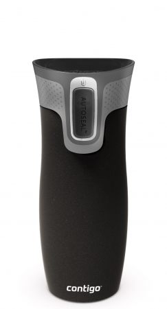 Thermobecher West Loop 2.0 schwarz matt 470 ml von CONTIGO